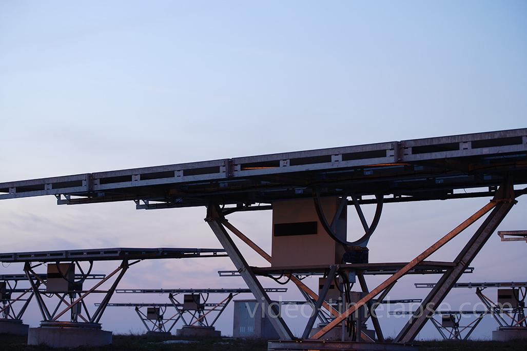 Time Lapse de instalación fotovoltaica