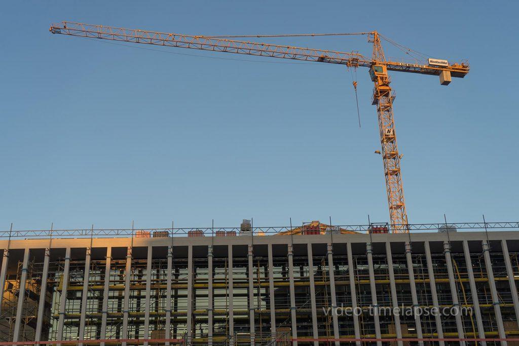 Langzeit Timelapse Aufnahmen zur Baufortschrittsüberwachung